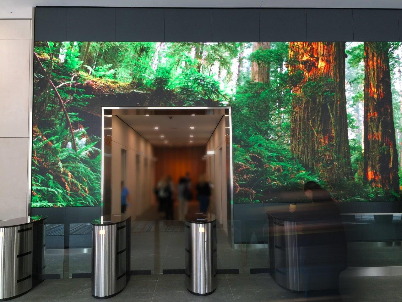 Salesforce Led Video Wall